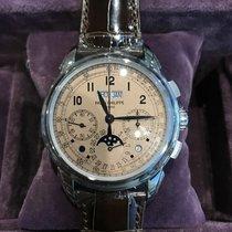 Patek Philippe Perpetual Calendar Chronograph Platinum 41mm Pink Arabic numerals