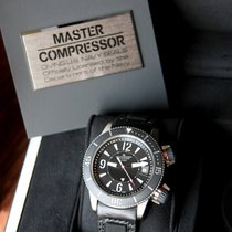Jaeger-LeCoultre Master Compressor Diving Alarm Navy SEALs Titanio Negro