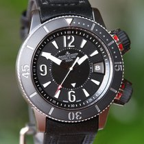 Jaeger-LeCoultre Master Compressor Diving Alarm Navy SEALs Very good Titanium Automatic United States of America, Missouri, Chesterfield