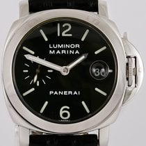 Panerai Women's watch Luminor Marina Automatic 40mm Automatic pre-owned Watch with original box and original papers 1999