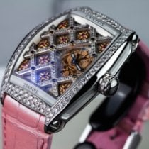 Cvstos new Quartz Skeletonized Display back Gemstones and/or diamonds Luminous hands Limited Edition Screw-Down Crown 49mm Steel Sapphire crystal
