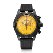 Breitling Carbon Automatic Yellow Arabic numerals 50mm new Avenger Hurricane