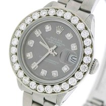 Rolex Lady-Datejust Acero 26mm Gris