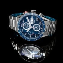 TAG Heuer Carrera Calibre 16 Steel 43mm Blue United States of America, California, San Mateo