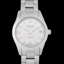 Longines Conquest Classic Steel 34mm Silver United States of America, California, San Mateo