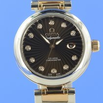 Omega De Ville Ladymatic Or/Acier 34mm Brun