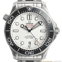 Omega Seamaster Diver 300 M Staal 42mm Wit Geen cijfers