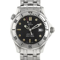 Omega Seamaster Diver 300 M Steel 35mm Black No numerals