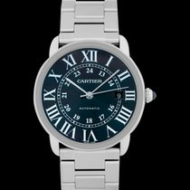 Cartier Ronde Croisière de Cartier Steel 42mm Blue United States of America, California, San Mateo