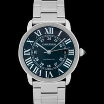 Cartier Steel Automatic Blue 42mm new Ronde Croisière de Cartier