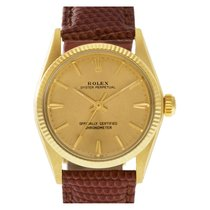 Rolex Or jaune Remontage automatique Or Sans chiffres 30mm occasion Oyster Perpetual 31