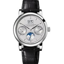 A. Lange & Söhne Platinum Automatic Silver 38.5mm new Saxonia