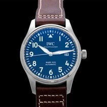 IWC Pilot Mark Steel 40mm Blue United States of America, California, San Mateo