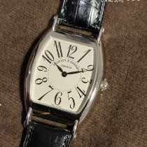 Vacheron Constantin White gold Manual winding Silver Arabic numerals 31mm pre-owned Historiques