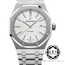 Audemars Piguet Royal Oak Selfwinding Steel 41mm White Arabic numerals United States of America, New York, NEW YORK