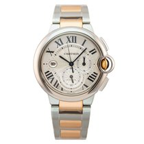 Cartier Ballon Bleu 44mm new 2012 Automatic Watch with original box and original papers W6920075