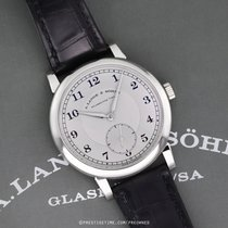 A. Lange & Söhne Platinum Manual winding Silver 40mm pre-owned 1815