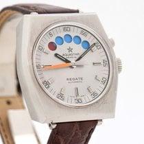 Aquastar Steel Automatic Silver No numerals 40mm pre-owned