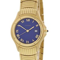 Cartier Cougar Yellow gold 33mm Blue United States of America, New York, New York