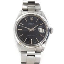 Rolex Oyster Perpetual Date Steel 34mm Silver No numerals Singapore, Singapore