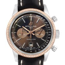 Breitling Transocean 38 Steel 38mm Brown