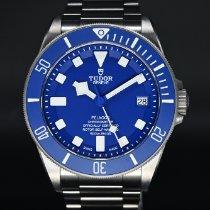 Tudor Pelagos Титан 42mm Синий Без цифр