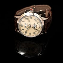 Patek Philippe White gold Automatic Red 40mm new Perpetual Calendar