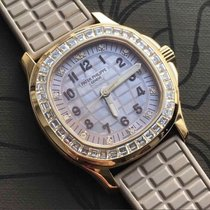 Patek Philippe Rose gold Automatic Mother of pearl 35.6mm new Aquanaut