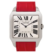 Cartier Santos Dumont White gold 35mm Champagne Roman numerals United States of America, Florida, Surfside