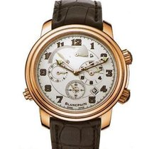 Blancpain Léman Réveil GMT Rose gold 40mm White Arabic numerals United States of America, California, Newport Beach