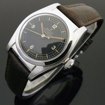 Rolex Bubble Back Acero 32mm Negro