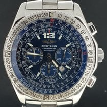 Breitling B-2 Steel 44mm Blue No numerals