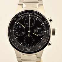 IWC Steel Automatic Black 40mm pre-owned GST