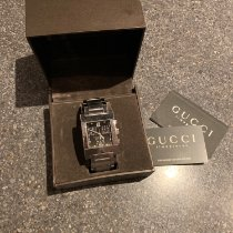 Gucci Staal 30mm Quartz 7700M tweedehands Nederland, Amersfoort