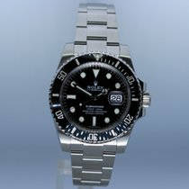 Rolex Submariner Date Steel 40mm Black No numerals United Kingdom, Andover