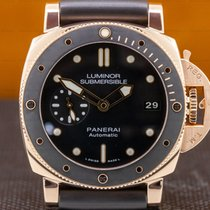 Panerai Luminor Submersible 1950 3 Days Automatic Oro rosado 42mm Negro