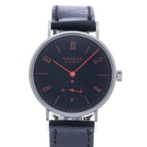 NOMOS Tangente pre-owned 35mm Black Leather