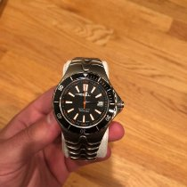 Ebel pre-owned Automatic 43mm Black Sapphire Glass 20 ATM