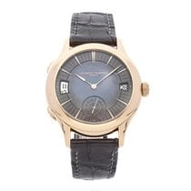 Laurent Ferrier Rose gold Automatic Grey No numerals 41mm pre-owned