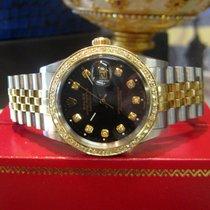 Rolex Datejust подержанные 36mm Чёрный Дата