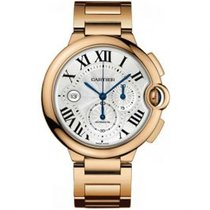 Cartier Ballon Bleu 44mm new Automatic Chronograph Watch with original box and original papers W6920010