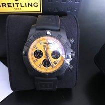 Breitling Chronomat 44 Blacksteel Acier 44mm Jaune Sans chiffres
