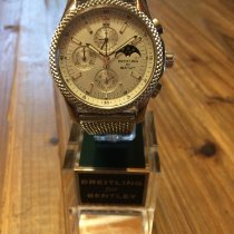 Breitling Bentley Mark VI Zeljezo 42mm Srebro Bez brojeva