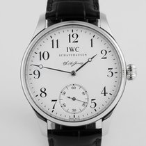 "IWC Portuguese F. A. Jones Platinum ""Only 500 Pieces"""