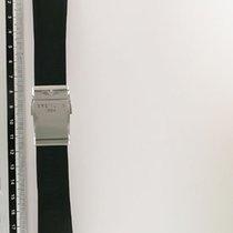 ブライトリング (Breitling) Black Rubber Strap With Fold Clasp