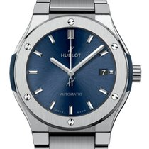 Hublot Classic Fusion Blue Titanium 42mm Blue United Kingdom, London