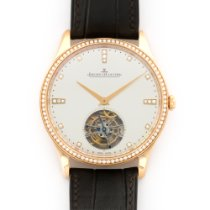 Jaeger-LeCoultre Rose Gold Master Ultra Thin Diamond Tourbillo...