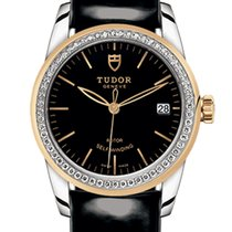 Tudor 55023-1 Gold/Steel 2020 Glamour Date 36mm new