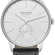 NOMOS Orion Neomatik Steel 38.5mm White Arabic numerals