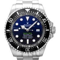 ロレックス Sea-Dweller Deepsea D-Blue Steel 44mm - 126660